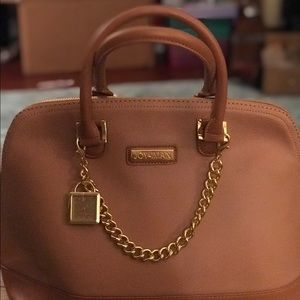 Joy & Iman camel colored bag. NEW, never used!